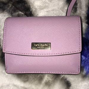 Kate spade Lavender wallet